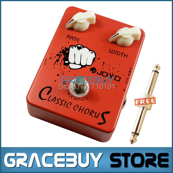 Electric Guitar Bass AMP Dynamic Compression Effect Pedal Classic Chorus Joyo JF-05 JF05 True Bypass mooer ensemble queen bass chorus effect pedal mini guitar effects true bypass with free connector and footswitch topper