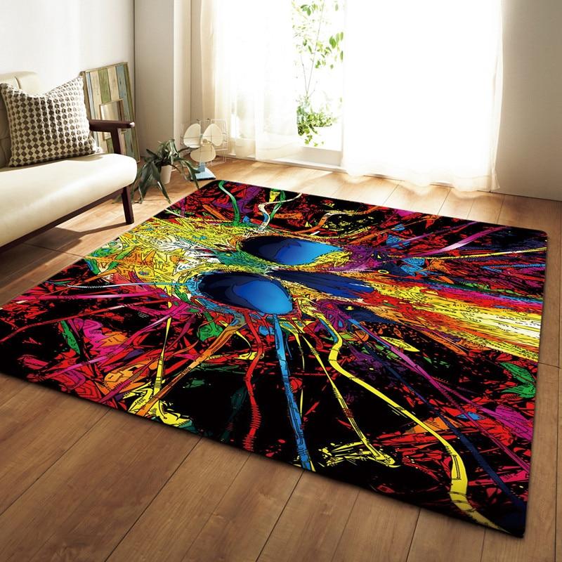 LIU Creative crâne délicat Europe tapis doux pour salon chambre enfant jouer délicat tapis tapis maison étage mode étude salle