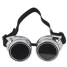 Cyber Goggles Steampunk Glasses Vintage Retro Welding Punk Gothic Sunglasses Cosplay Stylish Goggle