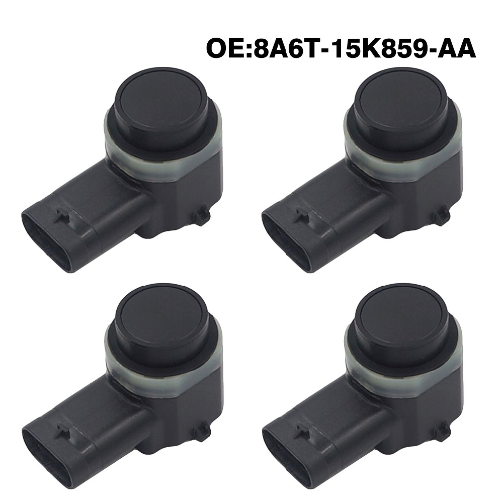 4pcs/lot PDC Parking Sensor 8A6T-15K859-AA For Ford Mondeo Fusion Fiesta Focus Galaxy Grand C-MAX For Lincoln Mkx Mkz