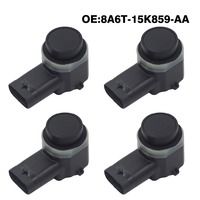 4pcs/lot PDC Parking Sensor 8A6T 15K859 AA For Ford Mondeo Fusion Fiesta Focus Galaxy Grand C MAX For Lincoln Mkx Mkz