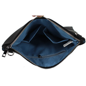 Image 2 - Quality Guarantee ! 2018 women black leather Purses And Handbags evening clutch bags Day Clutches
