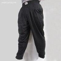 Men S Gym Baggy Pants For Bodybuilding Loose Comfortable Workout Trouser Lycra Cotton High Elastic Designed
