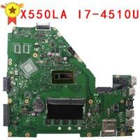 ללוח האם Asus A500L A550LA R510L R510LA X550L X550LA REV2.0 האם X550LD Mainboard עם i7-4510U HD 4400 100% עבודה