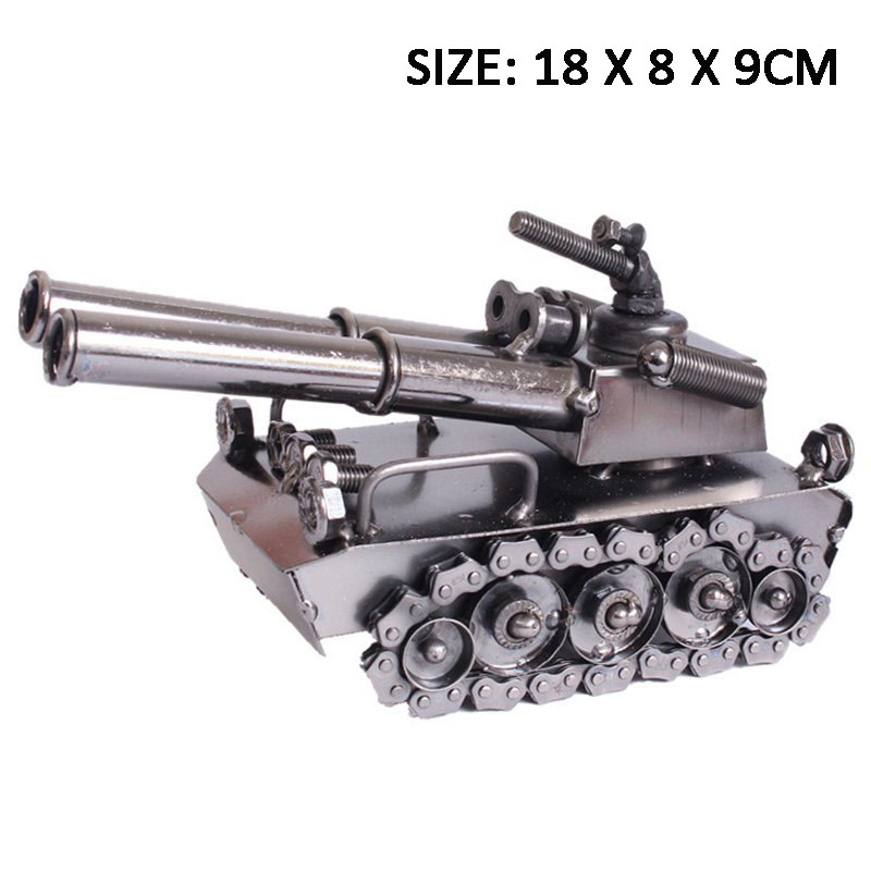 Awesome Artillery Sculpture Traditional Metal Craft Iron Art Artillery Decoration Craft For Mechanical Lovers Birthday GiftAwesome Artillery Sculpture Traditional Metal Craft Iron Art Artillery Decoration Craft For Mechanical Lovers Birthday Gift