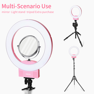 Image 5 - AMBITFUL RL 240 12 31cm LED réglable anneau lumière lampe 36W 3200 ~ 5600K 240 LED pour Photo vidéo éclairage Kit téléphone vidéo tir