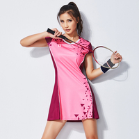 Badminton Wear Dress Women's Suit Quick drying Badminton Sportswear Tennis Clothing with Safety Short