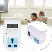 Cewaal EU Plug AC220 240V Plug In Time Clock Timer Socket For AL 06 Professional Electrical