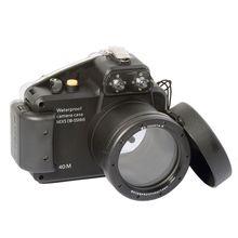 Meikon 40m/130ft Diving Camera Waterproof Housing Case for Sony Nex5 18-55mm