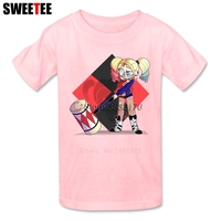 Suicide Squad Boy Girl T Shirt Baby Infant Cotton Crew Neck Kid Tshirt Children S Clothes