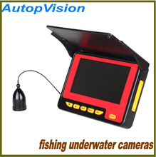 4.3inch Underwater fish camera with camcorder function, HD camcorder for fishing with 20 meters cable,Visual Fish Finder