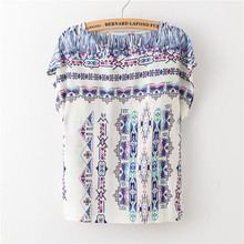Summer New women vintage T Shirt Black floral print Casual Loose short bat sleeve big size printing tees 2017