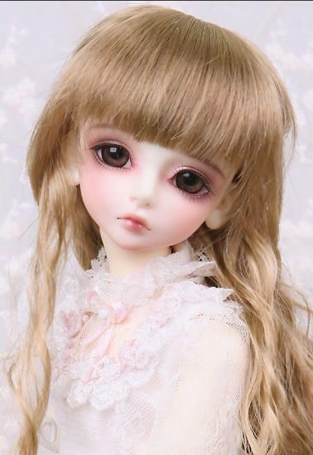 Kid Delf Girl BORY BJD doll 1/4 LUTS baby girl SD Doll free eyes