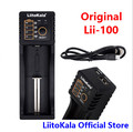 LiitoKala Lii-100 lii-202 18650 Battery Charger For 26650 16340 RCR123 14500 LiFePO4 1.2V Ni-MH Ni-Cd Rechareable Battery