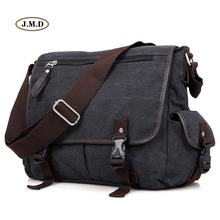 J.M.D Top Quality Leisure Fashion New Canvas Outdoor Daily Life Shoulder Bag Business Laptop Casual Travel 9035
