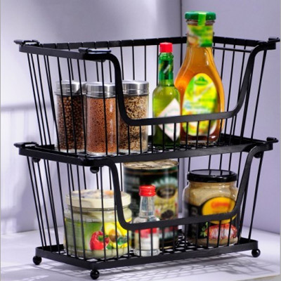Finishing Metal Storage Racks Ikea Kitchen Bathroom Rack Freezer Tray Vegetable Seasoning
