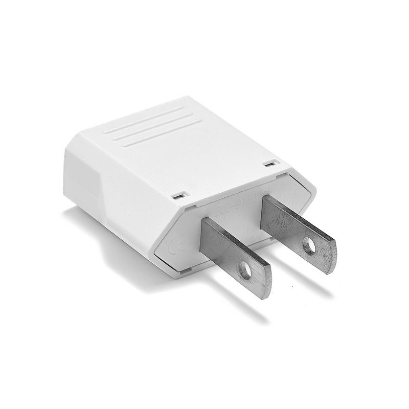 500pcs CN Japan US Travel Adapter European EU To US American Chinese AC Power Adapter Electrical Cahrger Plug Sockets Outlet
