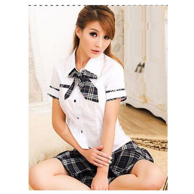 Aowofs New Arrival Sexy Lady High School Girl Dress Uniform Women Adult Costume Full Outfit Japan Cosplay Hot Selling
