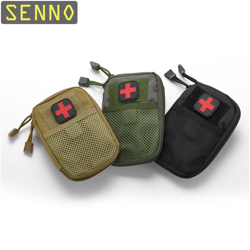Portable Military First Aid Kit Empty Bag Bug Out Bag Water Resistant For Hiking Travel Home Car Emergency Kits