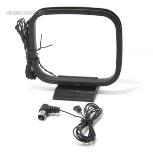 Image 1 - Antena radiowa 75ohm UNBAL i AM antena pętli dla Yamaha naturalny dźwięk odbiornik stereo