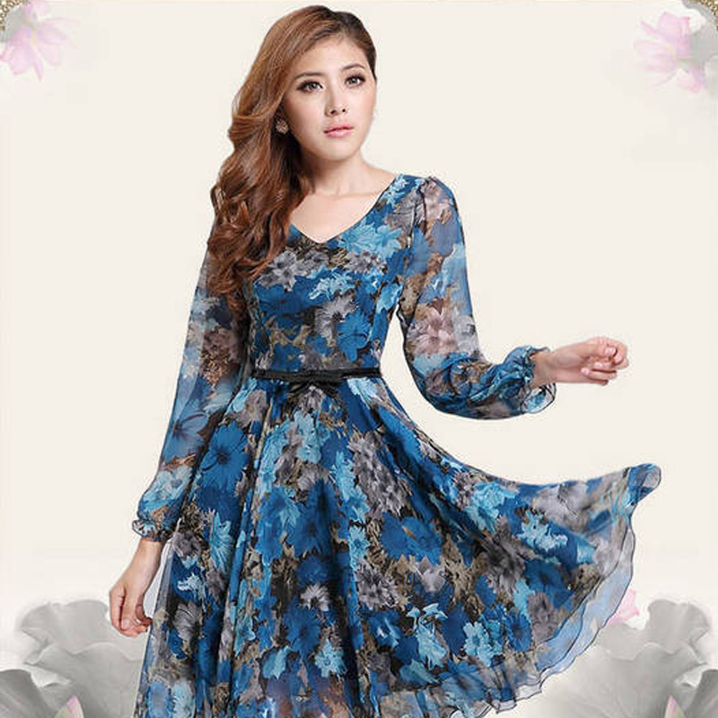 Online Buy Wholesale silk maxi dress sale from China silk maxi ...