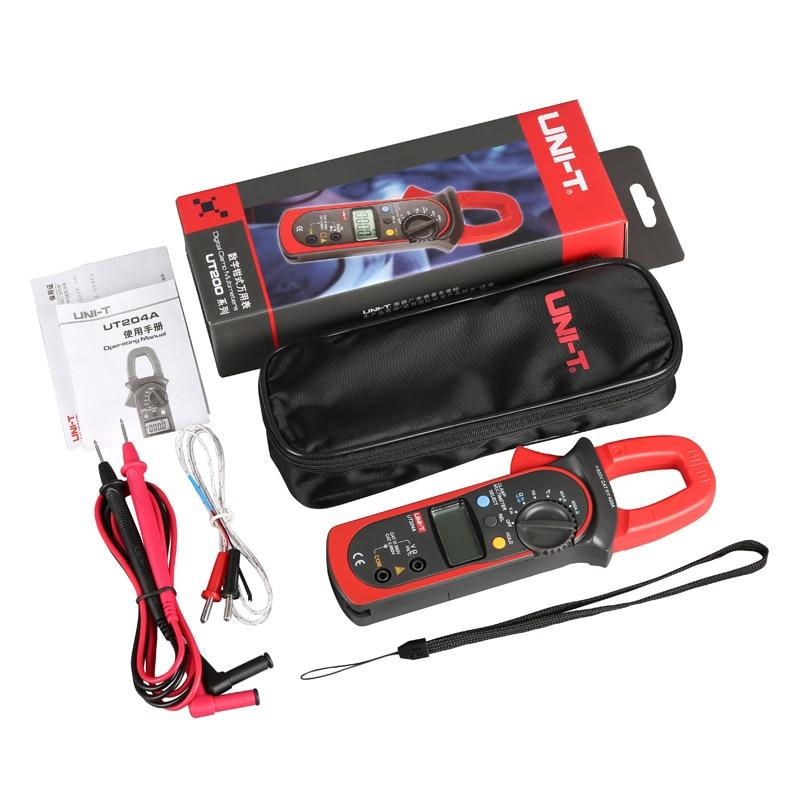 UNI-T UT204A 600A AC DC digitale stroomtangen met temperatuur test - Meetinstrumenten - Foto 5