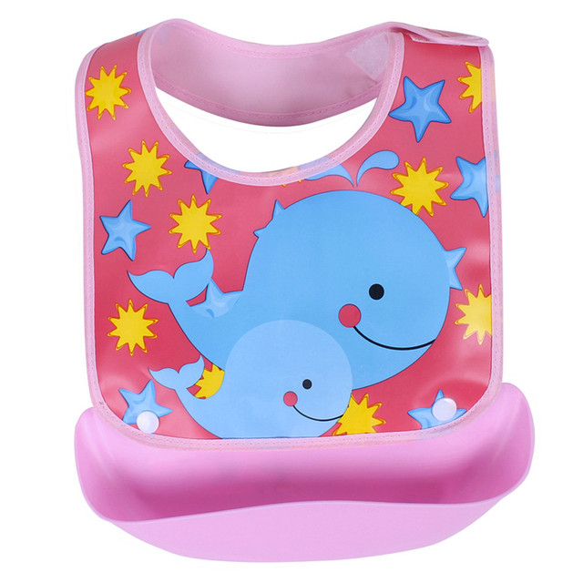 Detachable Cartoon Bibs with Tray