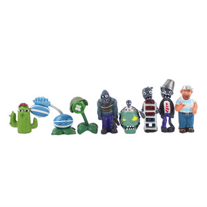 Image 2 - 14 styles Plants vs Zombies PVZ Toy Plants Zombies PVC Action Figures Toy Doll Set for Collection Party Decoration