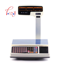 commercial electronic price scales Barcode Label Printing Scale Electronic price scale computing scales English version