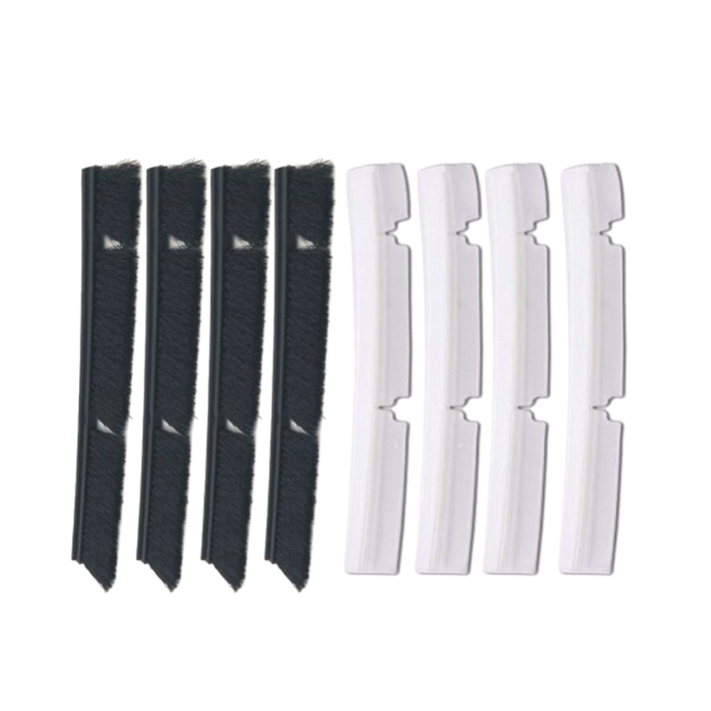 Hot Sale 4xSilicone Blades+4xBrushes Replacement For Neato Botvac 70e 75 80 85 All D-Series Connected Vacuum Cleaner Parts все цены