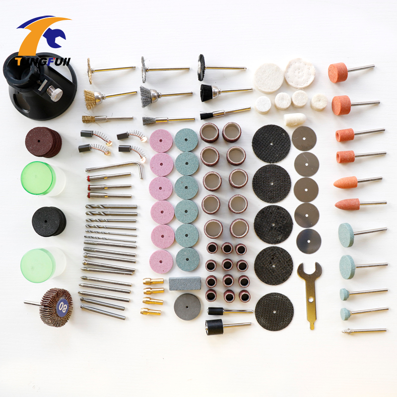New dremel drill special dedicated locator horn top 173pcs carving grindering polishing tools kits suit for