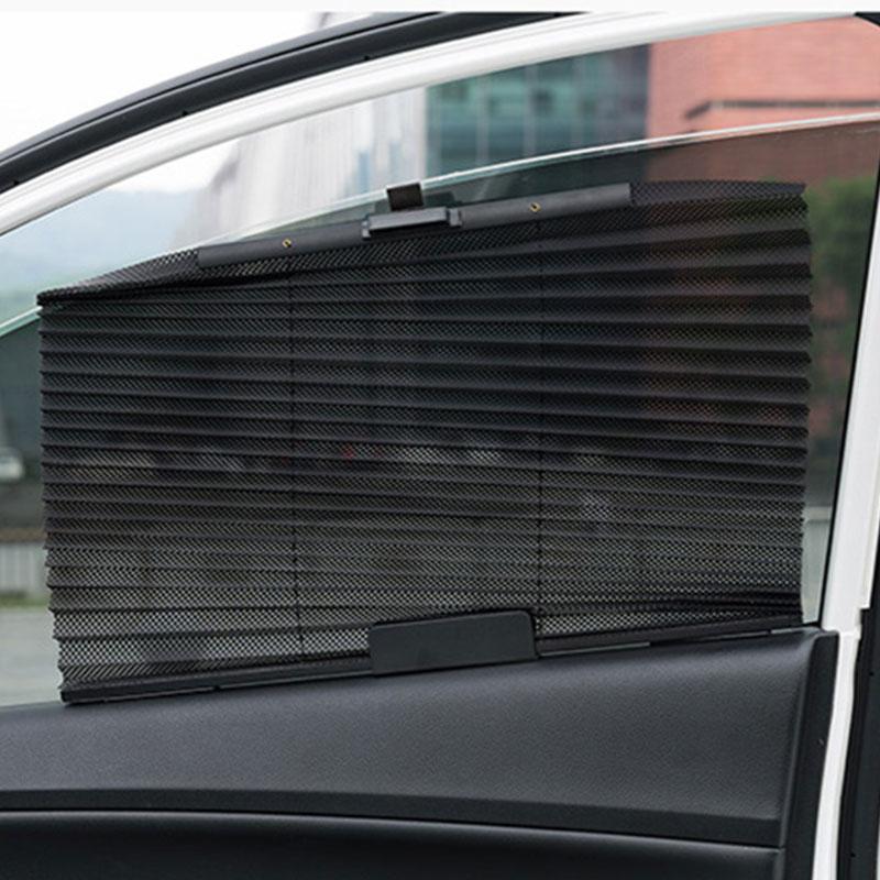 Авто Выдвижная боковая оконная занавеска солнцезащитный козырек слепой Солнцезащитная сетка