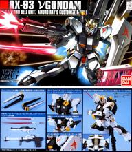 Gundam Model HG 1/144 RX-93 V Hi NU GUNDAM READY PLEAYER ONE  Armor Unchained Mobile Suit Kids Toys