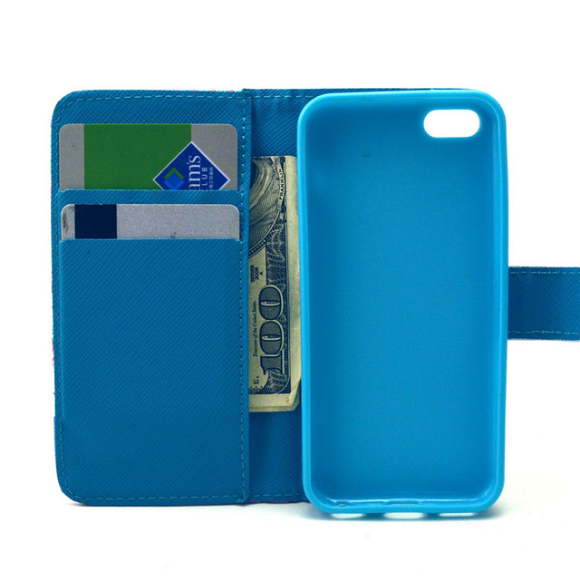 Case For Apple Iphone 5c Stand Cover for Iphone 5S 5 SE 6 6S 4S 4 Cases/card holder