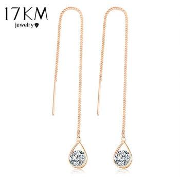 Crystal Water Drop Earrings