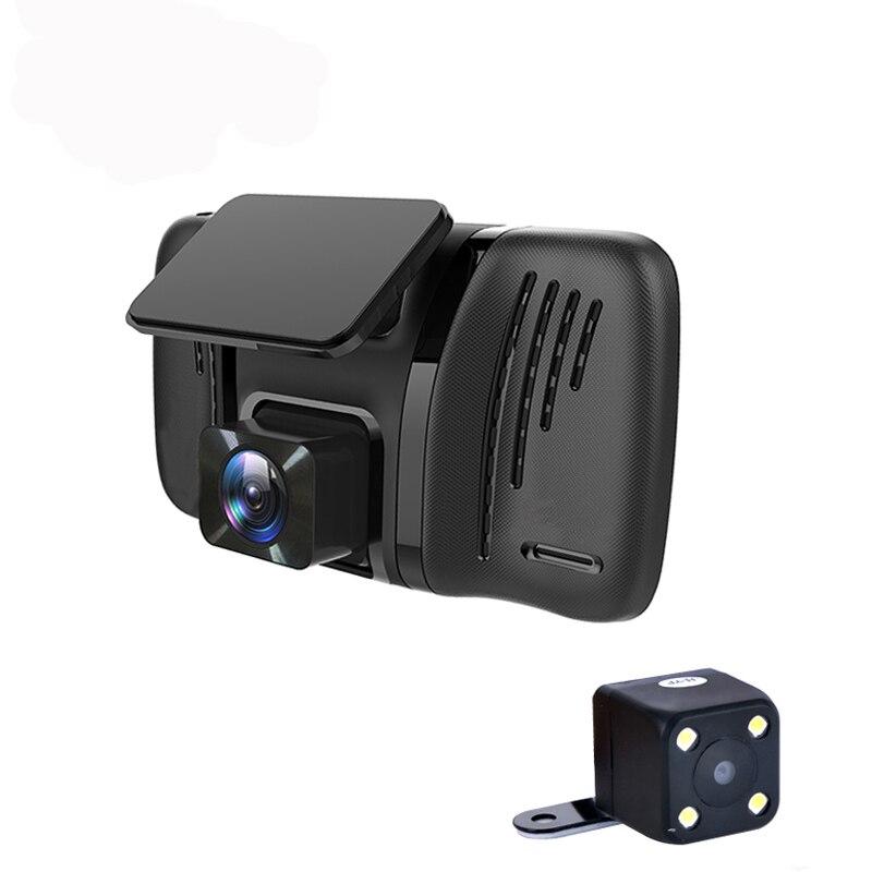 "Car DVR Camera 4.0"" Mini Dual Lens with Rear view Camera Full HD 1080P Video recoder Camcorder Car dvrs dashcam"