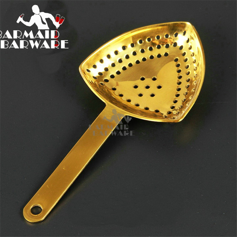 Stainless Steel Julep Bar Strainers For Cocktail Drink Bartender Tool in Bar Strainers from Home Garden