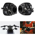 High Quality 1Pair Motorcycle 125mm Handlebar Control Switch With Wiring Harness For Harley Motorcycle Switches