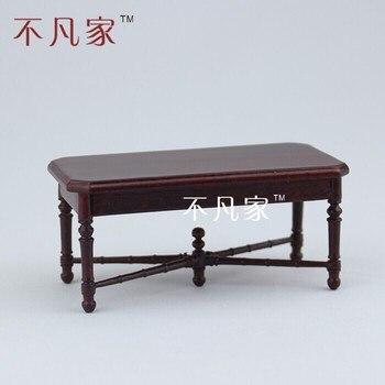 цена на dollhouse 1:12 scale special offer Fine miniature furniture tea table