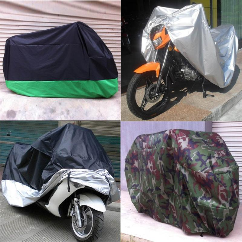VODOOL Motorcycle Cover 4 Season UV Protective Outdoor Indoor Motor Bike Scooter Motorbike Waterproof Rainproof Dustproof Covers