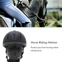 Horse Riding Helmet Adjustable Free Size Equestrian Helmets Horse Riding Equipment High Quality Horse Racing Safety Helmet
