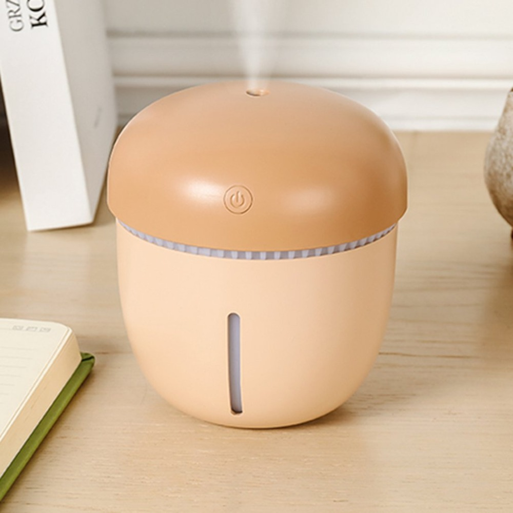 лучшая цена Creative Stylish USB Air Humidifier Essential Oil Diffuser Colorful LED Night Lamp Mini Portable Home Humidifier