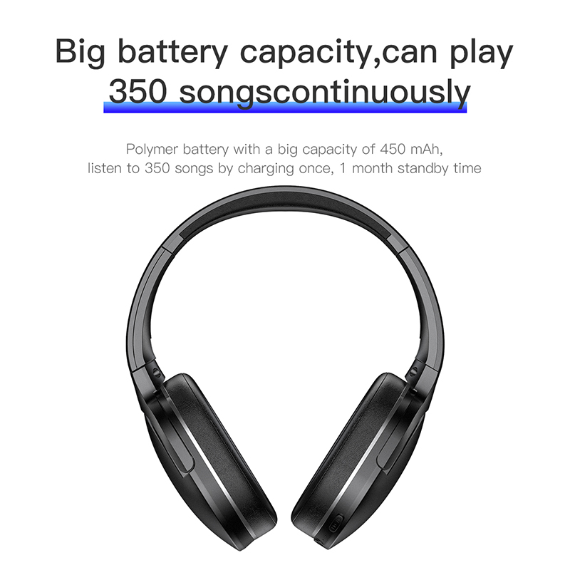 Foldable Bluetooth Headset  4