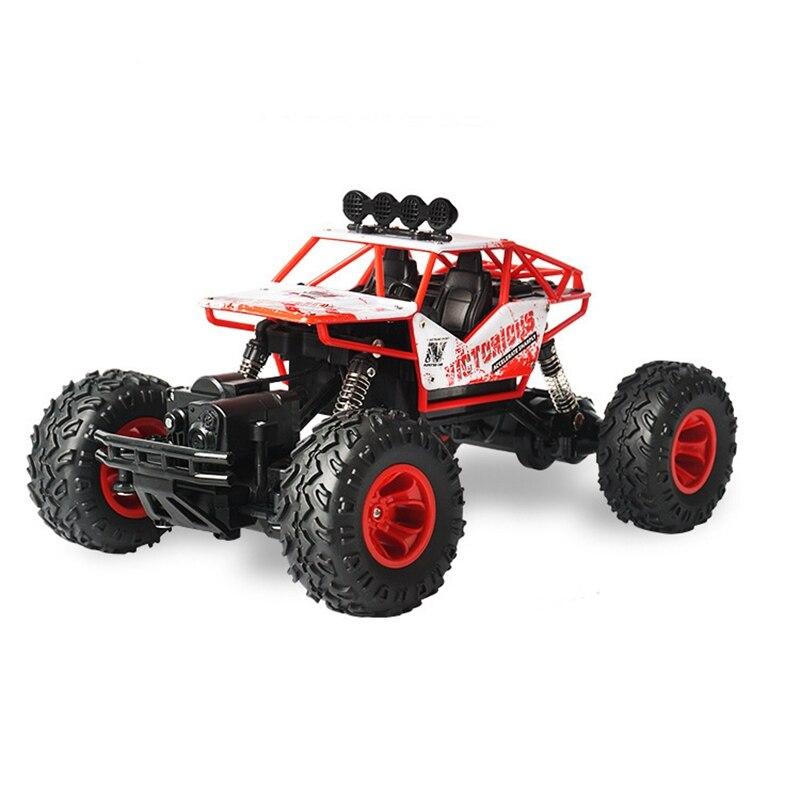 1: 16 RC Voiture 2.4g 4CH 4WD Rock Crawler 4x4 Voiture Double Moteurs Télécommande Voiture modèle
