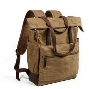 MANJIANGHONG Backpacks for Men Leather School Bagpack a537fa2f211f2