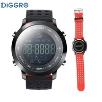 Diggro EX18 Smart Watch 5ATM Professional Waterproof Bluetooth Pedometer Real Time Sport Long Standby Wristband For