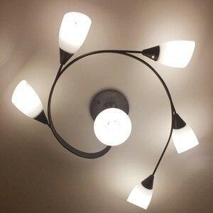 Image 5 - Artpad Moderne Led Kroonluchter Plafondlamp Indoor Verlichten Verlichting Amerikaanse Led Woonkamer Slaapkamer Childern Plafond Verlichting