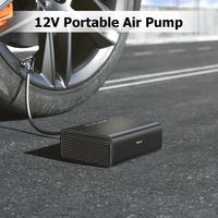 Baseus Intelligent Car Air Compressor Tire Inflatable Pump 12V Portable Auto Tyre Inflator for Car Tires Electric Tyre Pump