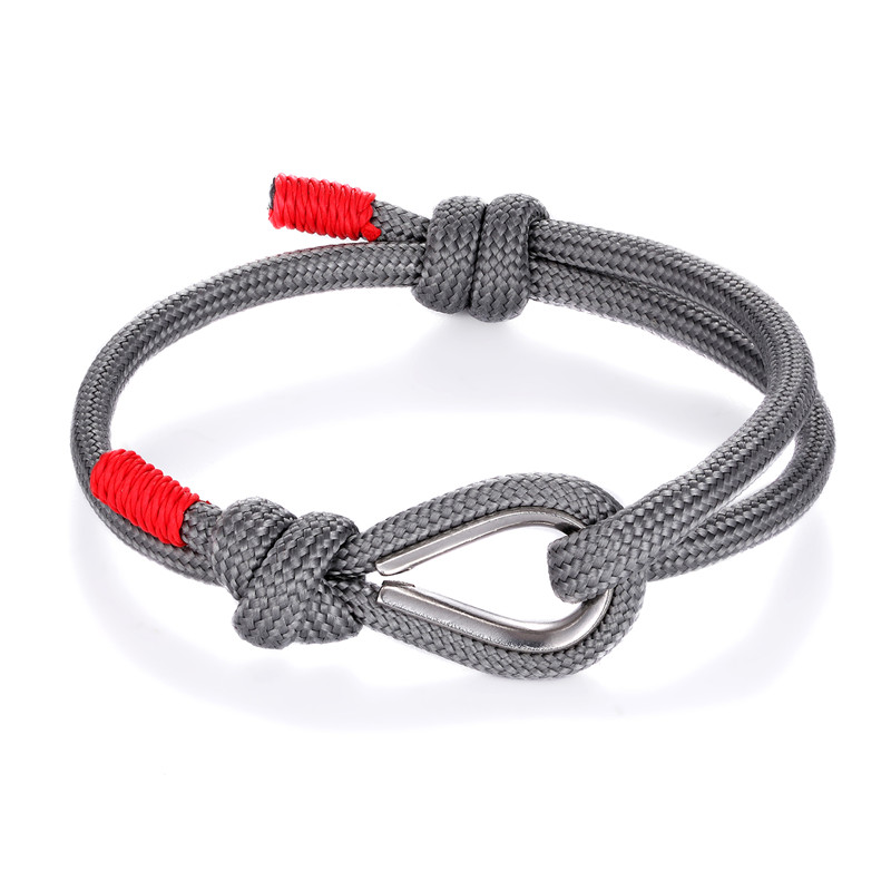 New Fashion Navy Coloful High quality Rope bracelet Men Lover Lucky Wrap Survival Bracelets Women Couple gift homme dropshipping