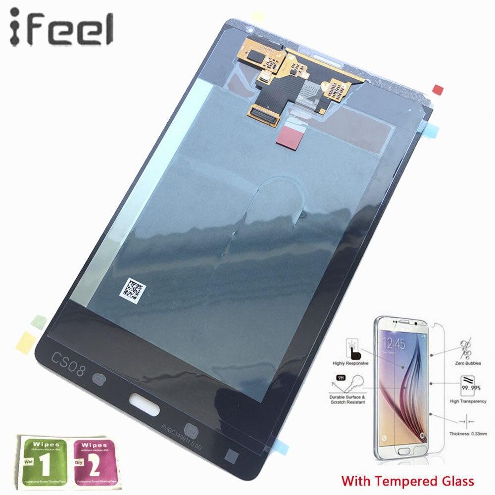 Ifeel 100% тестирование сборки Панель ремонт Samsung Galaxy Tab S T705 LTE 3G 8.4 ЖК-дисплей Дисплей Сенсорный экран планшета замена